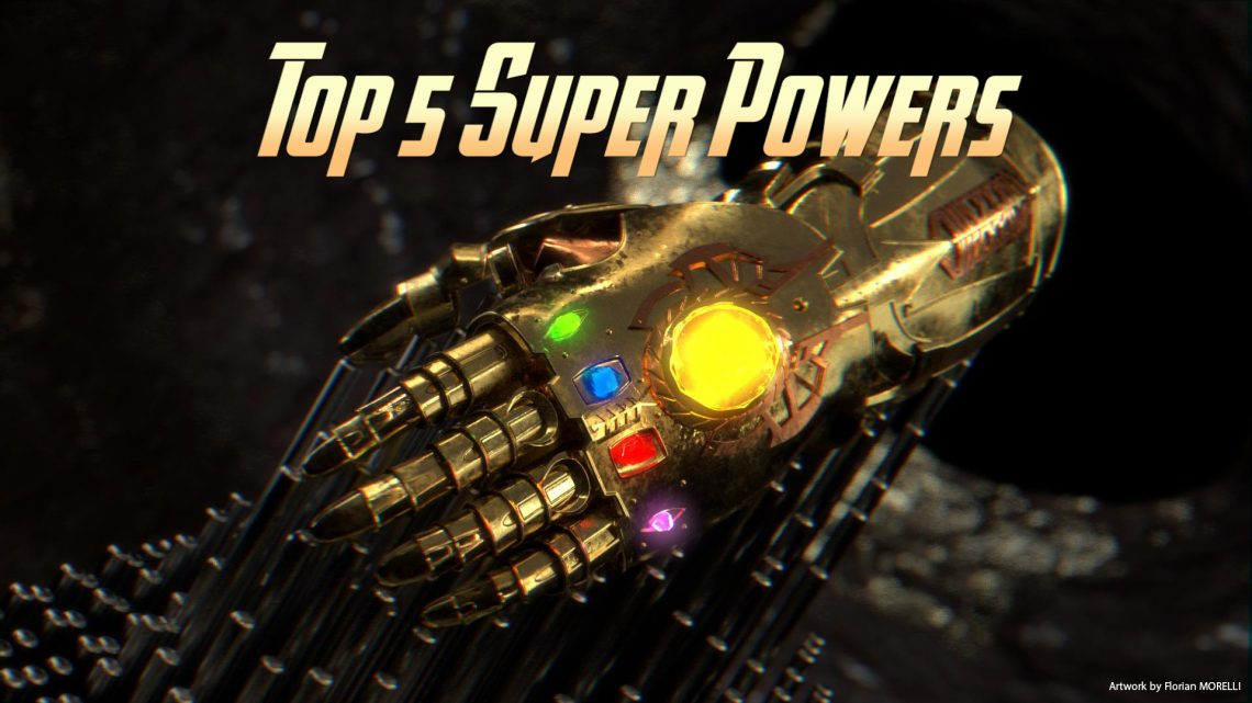 58 – Top 5 Super Powers – PodCavern